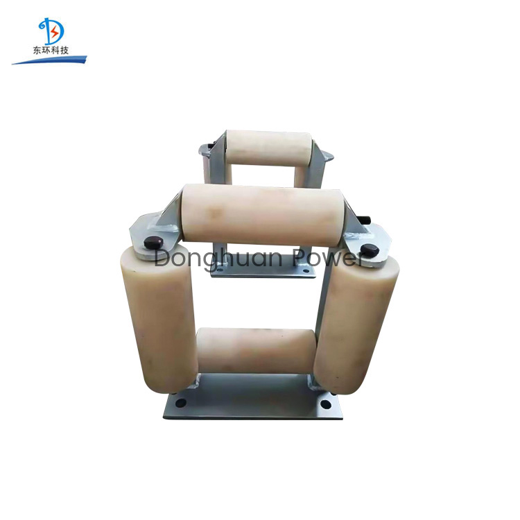 185mm Transmission Line Aluminum Rollers or Nylon Rollers Cable Pulling Window Roller Pulley Block