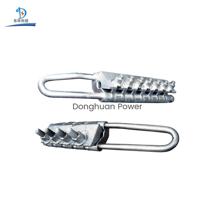 Bolt Type Round Strand Wire Rope Grips Steel Come Along Clamp for Tightening
