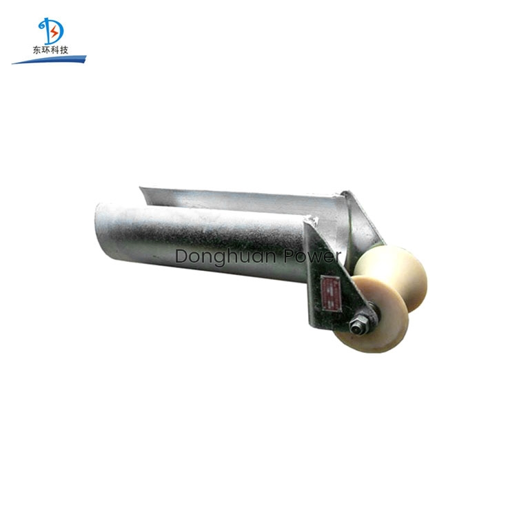Donghuan D Series stringing Entrance Protection Roller , Electrical Steel Cable Roller
