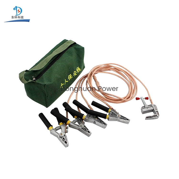 Earthing Equipment Portable Earth Wire Personal Safety Grounding Wire