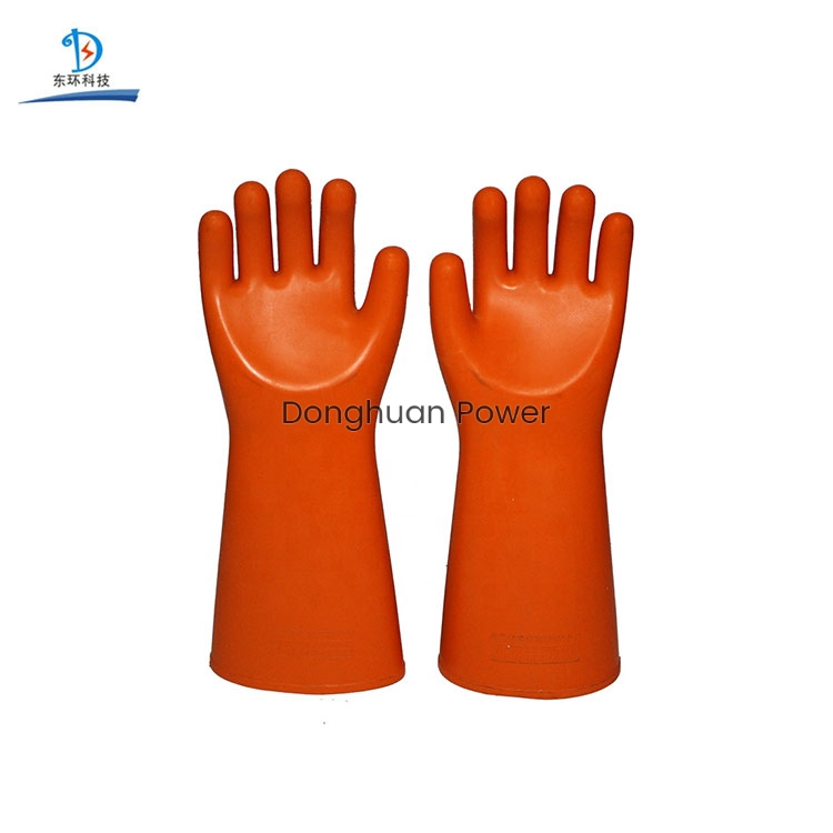 Electrical-Protection Electrical Insulating Rubber Latex Insulation Boots Shoes Electric Safety Gloves