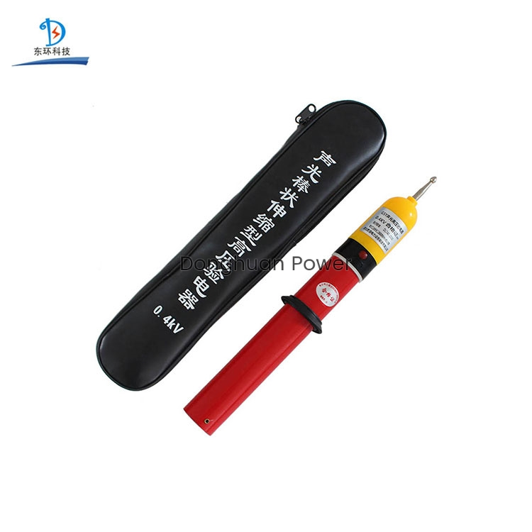Fiberglass Electrotest High Voltage Communicate Sound-light Electroscope GDY