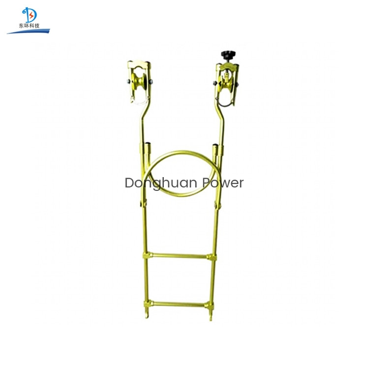 Hanging Rope Ladder Inspection Trolleys for Hanging Insulation Flexible Rope