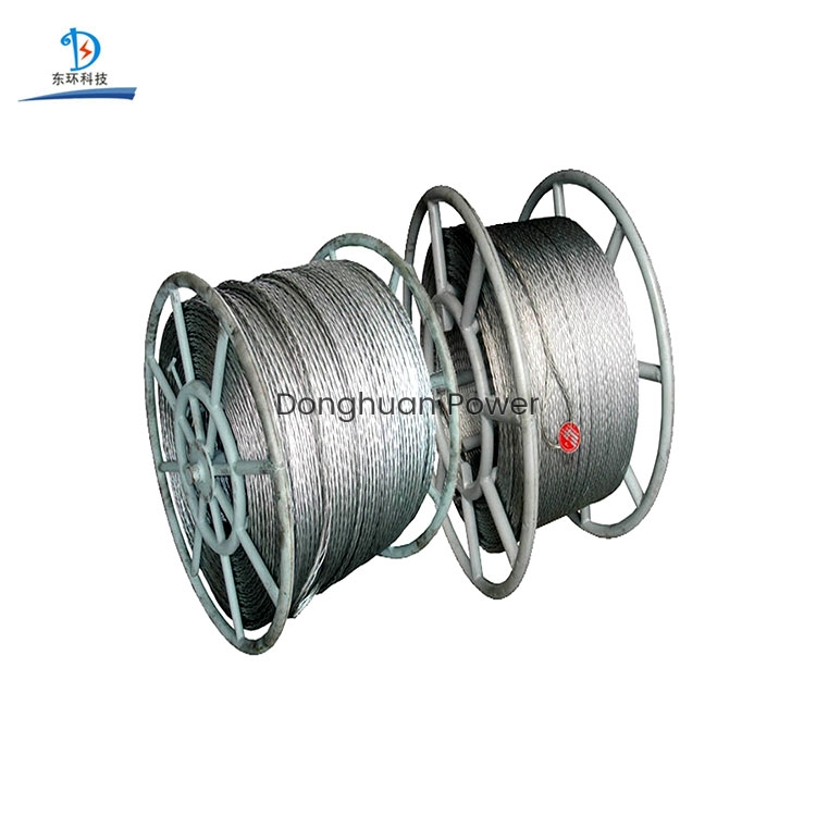 Hexagon Twelve Strands Hexagon Eighteen Strands for 9-42mm Galvanized Braided Anti Twisting Steel Wire Rope