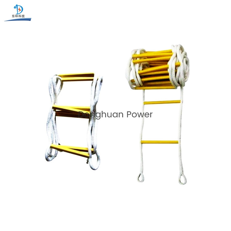 High Quality Insulation Ladder High strength hanging Escape rope ladder for climbing