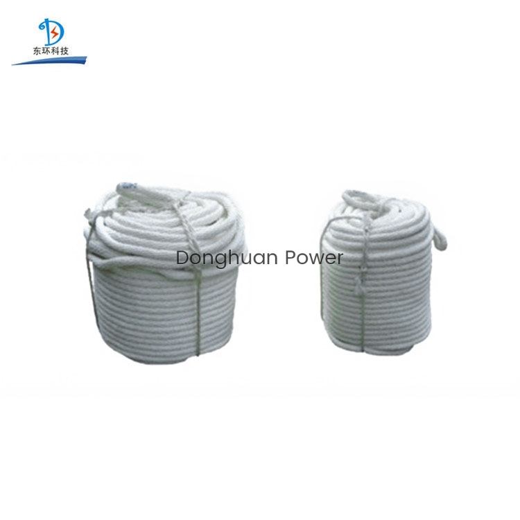 High Strength Double Braided Polyester Insulated Silk Rope for Electrical Use