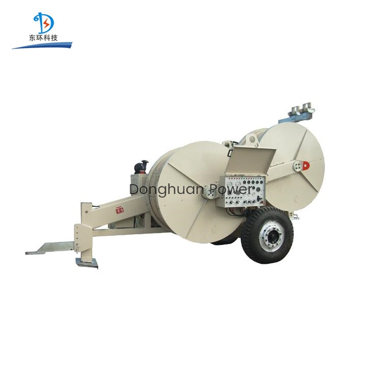 Hydraulic Puller Tensioner For Pulling / Tensioning Conductor