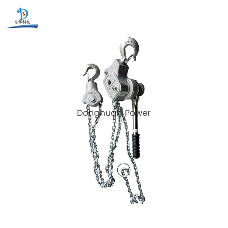 Aluminium Alloy Chain Type Good Quality Manual Handle Series Lifting electric Chain Hoist