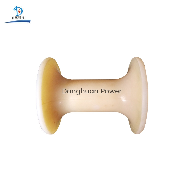 Dia 180mm Nylon Roller Wheel For Stringing Conductors