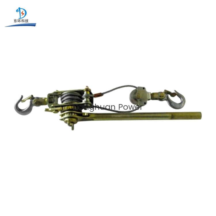Lifting Tools Manual Ratchet Wire Rope Tighter Withdrawing hand cable puller