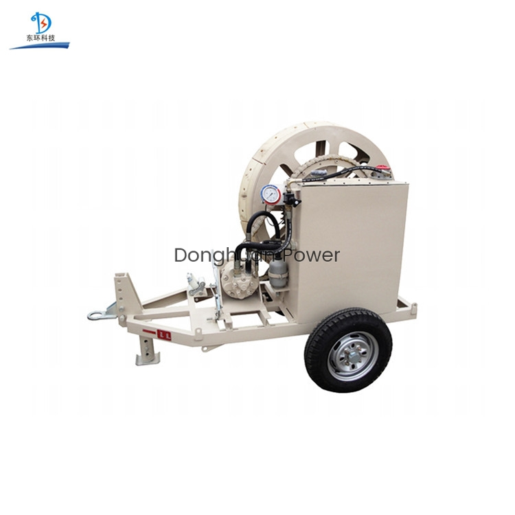 Model SA-YZM7.5 Hydraulic Puller Tensioner For Cable Pulling / Tensioning Stringing Conductor