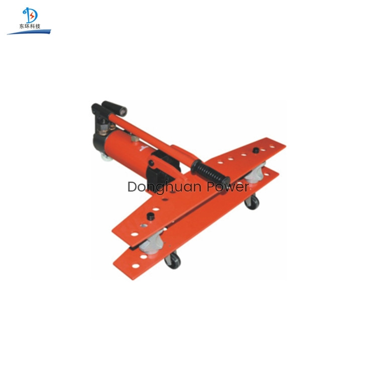 Model SWG-25 Portable Electric Hydraulic Pipe Bender Manual Bar Bender
