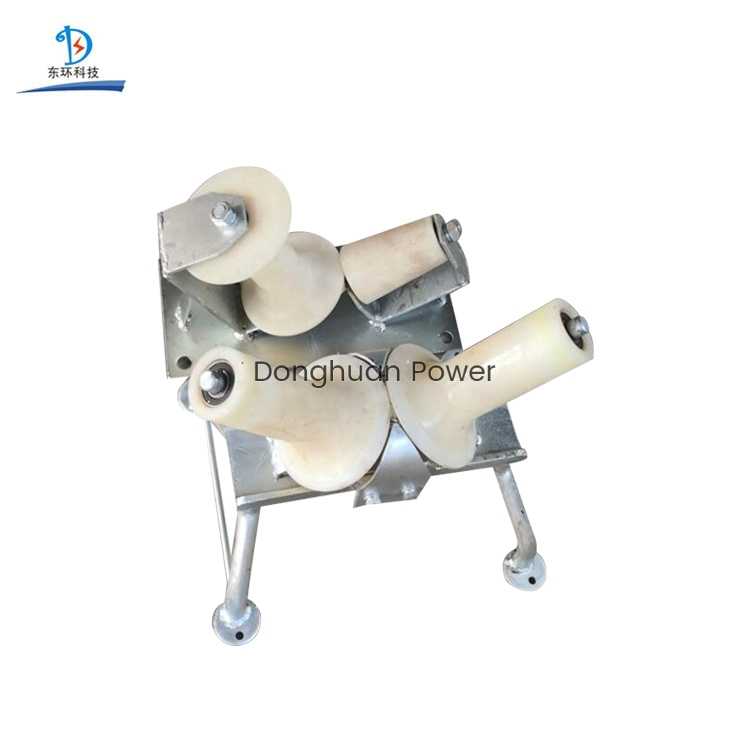 One Way Nylon String Block Turning Cable Laying Roller