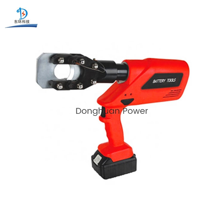 Portable Electric Lithium Battery Powered Charging Type Hydraulic Cable Cutter