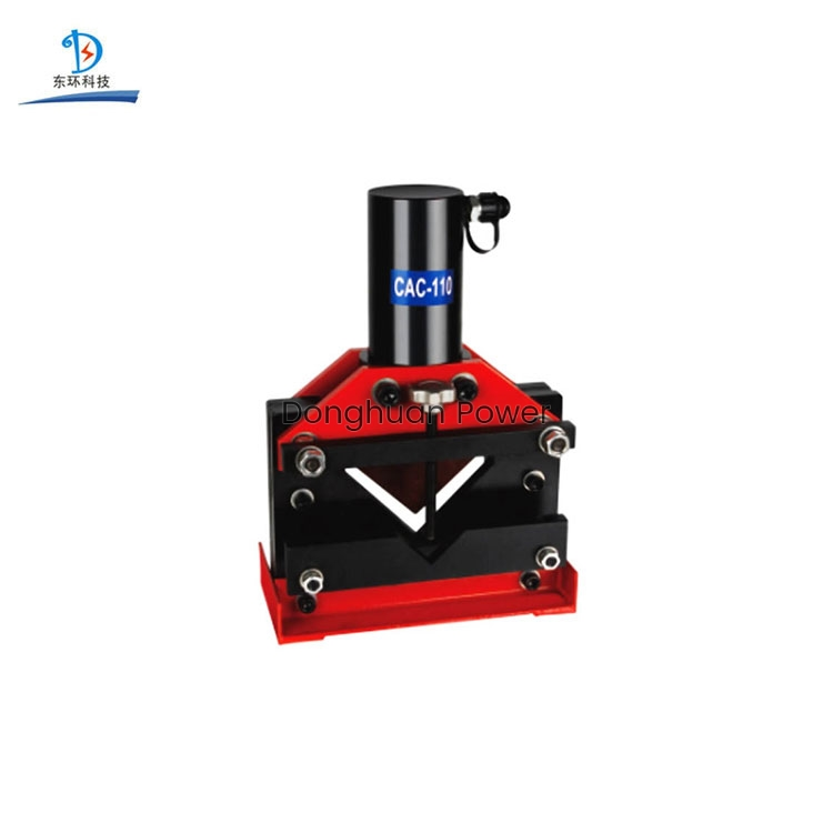 Portable Model CAC-75 110 160 High Quality Hydraulic Angle Steel Cutter