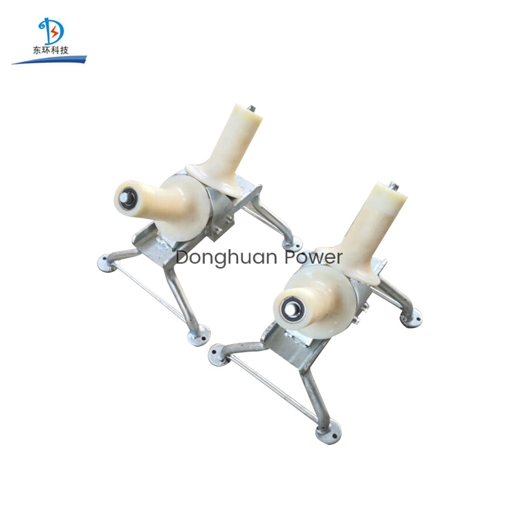Power Construction Transmission Stringing Equipment Cable Turning Roller