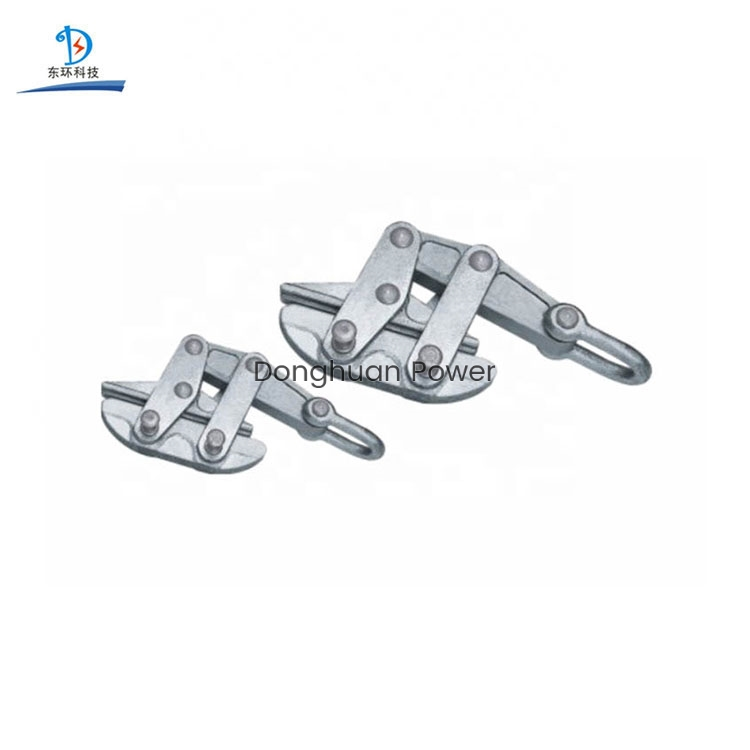 Self Locking Clamp Anti Twist Steel Rope Gripper