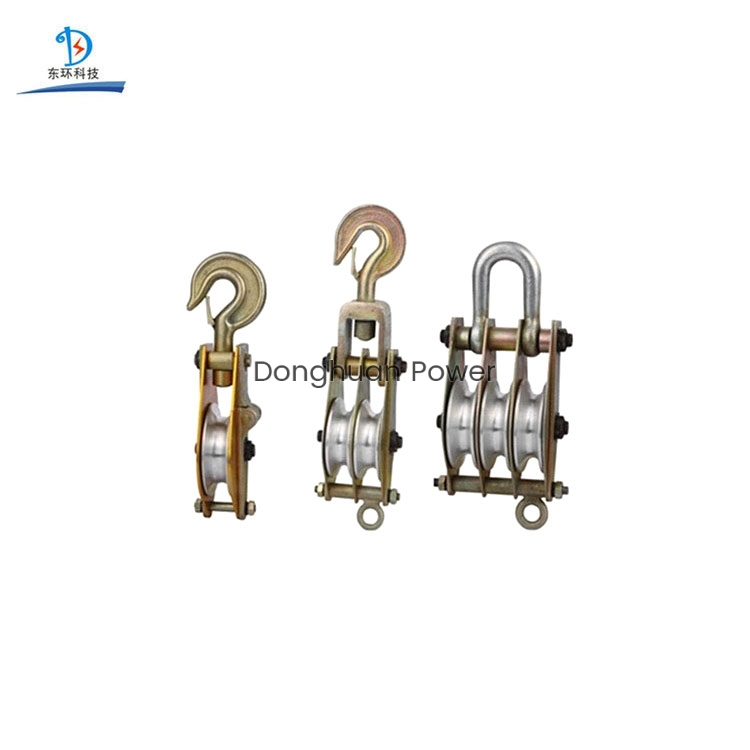 Sheave Lifting Steel Hoisting Block Tackle cable pulling pulley