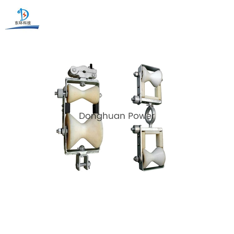 Special Cable Power Double Sheave Pulley Block