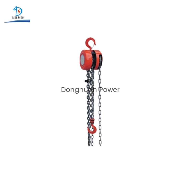 Stringing Equipment Steel Wire Rope Manual Chain Hoist
