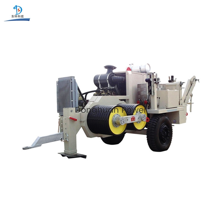 Transmission Line Hydraulic Traction Stringing Equipment for overhead transmission line construction