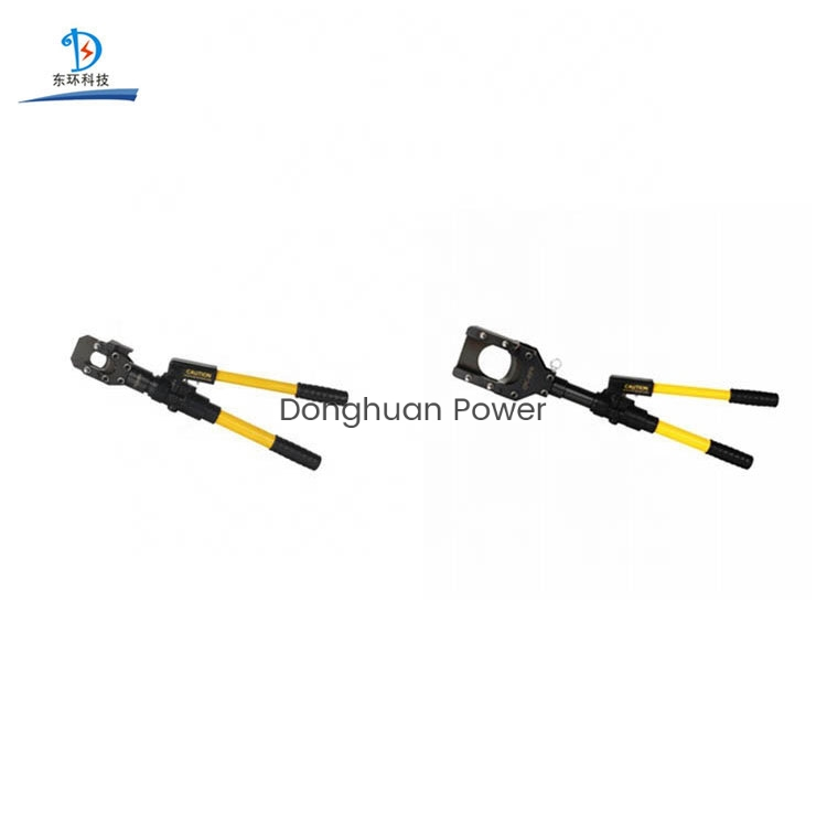 Transmission Line Tools Manual Hydraulic Cutter Electrical Wire Cable Cutters