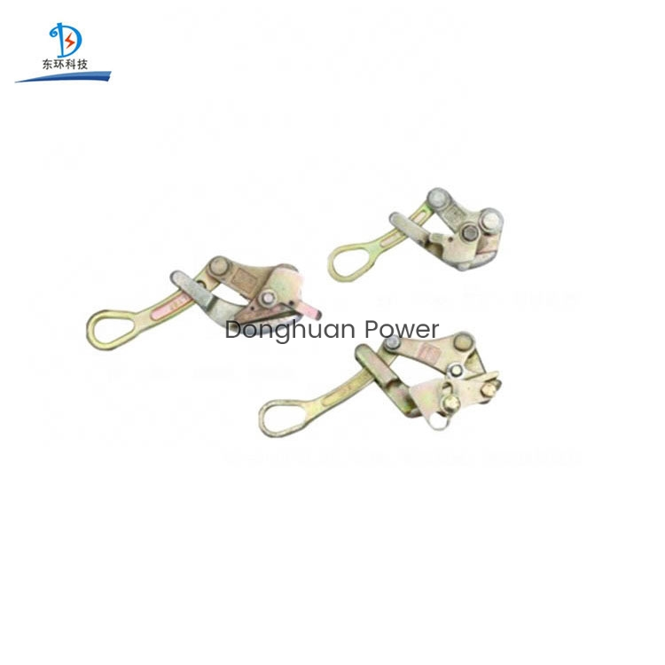 Universal Self Grip Conductor Come Along Clamp For ACSR