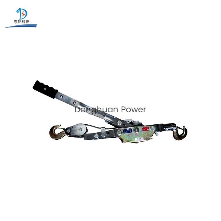 Wire Rope Electric Cable Manual Tightener Double Hook