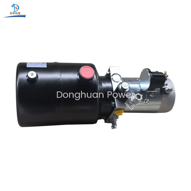 12V/24V Single Action DC Motor Mobile Hydraulic Power Pack Unit