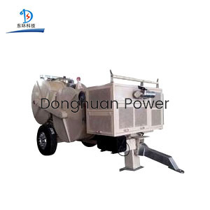 Power Construction Hydraulic Puller Tensioner For Four Bundled Conductor